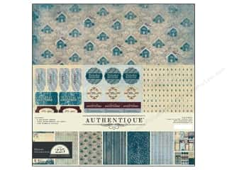 Authentique Collection Kit 12 x 12 in. Winter (4 kit)