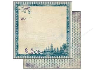 Authentique Paper 12 x 12 in. Seasons Winter One (25 piece)