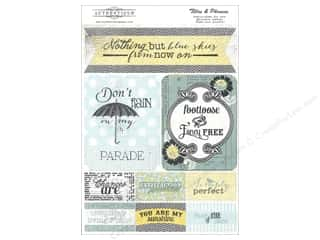 Authentique Die Cut Renew Titles & Phrases (12 set)