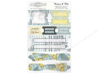 Tabs Clearance Crafts: Authentique Die Cuts Renew Hinges & Tabs (12 sets)