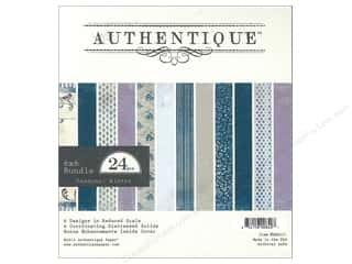 Authentique Paper Bundle 6 x 6 in. Seasons Winter 24pc