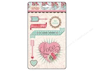 Labels Valentine's Day: BasicGrey Layered Stickers True Love