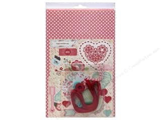 Crafting Kits Valentine's Day: BasicGrey Chipboard Word Kit True Love
