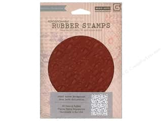BasicGrey Rubber Stamp Background Arrow