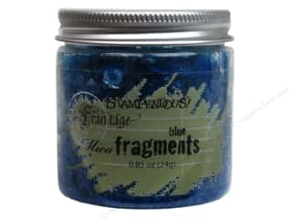 Stampendous Fran-Tage Mica Fragments Blue .85oz