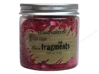 Stampendous Stampendous Fran-Tage: Stampendous Fran-Tage Mica Fragments Red .85oz