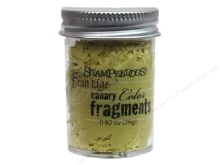 Stampendous Clearance Crafts: Stampendous Fran-Tage Color Fragments Canary .92oz