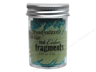 Clearance Fran-tage Color Fragments: Stampendous Fran-Tage Color Fragments Teal .81oz