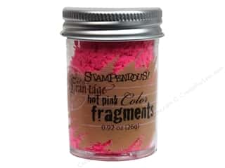 Clearance Fran-tage Color Fragments: Stampendous Fran-Tage Color Fragments Hot Pink