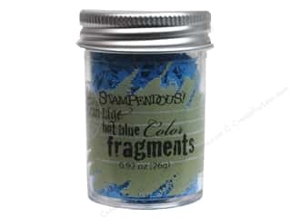 Clearance Fran-tage Color Fragments: Stampendous Fran-Tage Color Fragments Hot Blue