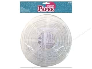 Novelty Items: Sierra Pacific Decor Lantern Paper White 3pc