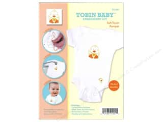 Tobin Yarn Kits: Tobin Kit Embroidery Romper Onesie 0-3mo Duck