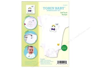 Tobin Yarn Kits: Tobin Kit Embroidery Romper Onesie Frog