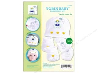 Tobin Embroidery: Tobin Kit Embroidery Take Me Home Set Newborn Frog