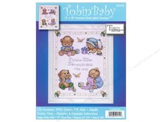 Weekly Specials Bear Thread Designs: Tobin Kit Cross Stitch Sampler 11x14 Baby Bears