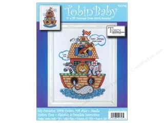 Tobin Kit Cross Stitch Sampler 11x14 Noah&#39;s Ark