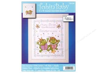 Tobin Kit Cross Stitch Sampler 11x14 Froggie Fun
