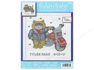 Weekly Specials Bear Thread Designs: Tobin Kit Cross Stitch Sampler 11x14 Born ToBeWild