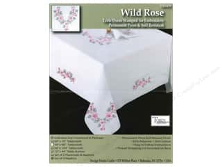 Stamped Goods Blue: Tobin Stamped Napkins Wild Rose 4pc