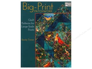 Big Print Patchwork Book