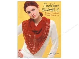 Crochet & Knit: Sock Yarn Shawls Book