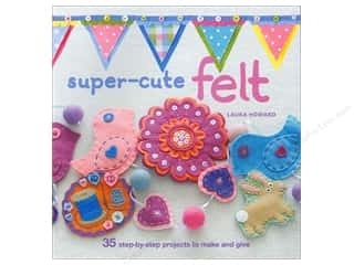 Sparkle Sale DecoArt Craft Twinkles: Super Cute Felt Book