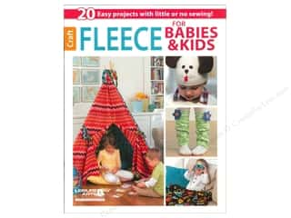 Leisure Arts Fleece For Babies & Kids Book