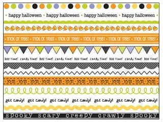 Party & Celebrations: SRM Press Sticker Got Your Border Halloween