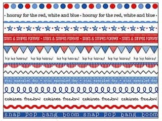 Independence Day Stickers: SRM Press Sticker Got Your Border Patriotic