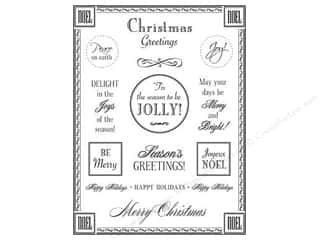 SRM Press Sticker Fancy Sentiments Christmas