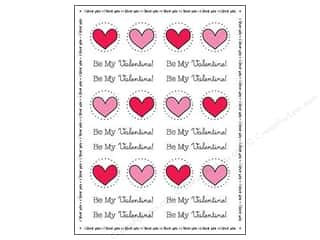 Valentines Day Gifts Paper: SRM Press Sticker By The Dozen Valentine