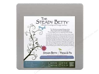 "Pressing Aids $8 - $12: Steady Betty Press & Pin Betty 12""x12"" Grey"