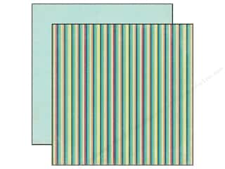 Echo Park 12 x 12 in. Paper Scoot Stripes (25 piece)