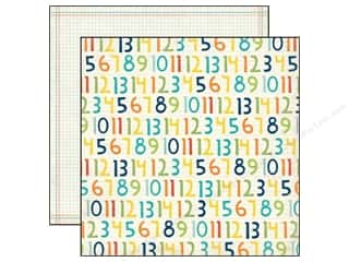 Echo Park 12 x 12 in. Paper Scoot Numbers (25 piece)