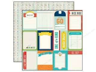Echo Park 12 x 12 in. Paper 3 x 4 Journaling Cards (25 piece)