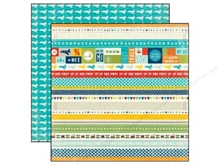 Echo Park 12 x 12 in. Paper Scoot Border Strips (25 piece)