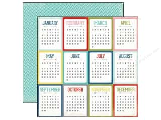 Echo Park 12 x 12 in. Paper Volume 1 Calendars (15 piece)