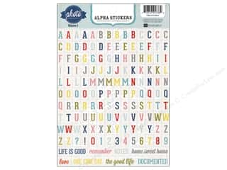 Echo Park Paper Company Alphabet Stickers: Echo Park Sticker Volume 1 Alphabet (10 sets)