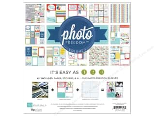 Clearance Echo Park Collection Kit: Echo Park 12 x 12 in. Photo Freedom Volume 1 Collection Kit