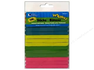 Forster Woodsies Craft Sticks Color 150pc
