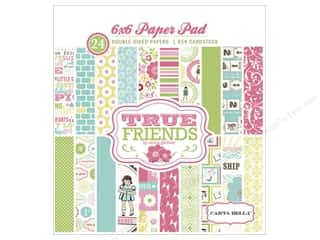 2013 Crafties - Best Quilting Supply Clover Wonder Clips: Carta Bella Paper Pad 6x6 True Friends