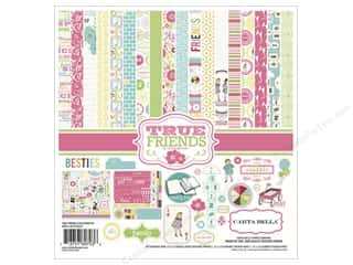 Clearance Best Creation Collection Kit: Carta Bella Collection Kit 12x12 True Friends