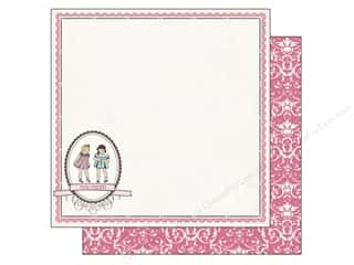 2013 Crafties - Best Quilting Supply Clover Wonder Clips: Carta Bella Paper 12x12 True Friends Best Friends (25 piece)