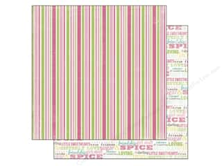 Carta Bella 12 x 12 in. Paper Sugar & Spice Stripe (25 piece)