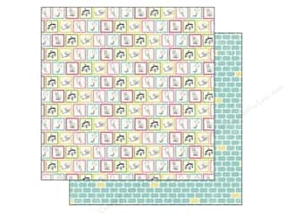 Carta Bella Printed Cardstock: Carta Bella 12 x 12 in. Paper True Friends Playtime (25 sheets)