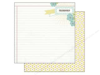 Carta Bella 12 x 12 in. Paper Friendship Notepad (25 piece)