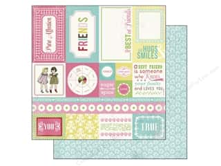 Carta Bella 12 x 12 in. Paper Forever Friends Cards (25 piece)