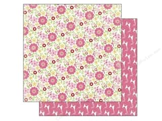 Carta Bella Papers: Carta Bella 12 x 12 in. Paper True Friends Floral (25 sheets)