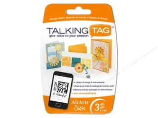 Sizzix Talking Tag Audio Message Label Ltd 3pc