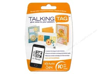 Sizzix Talking Tag Audio Message Label Ltd 10pc